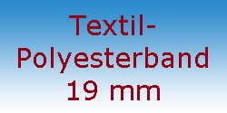 Textil Polyesterband 19 mm